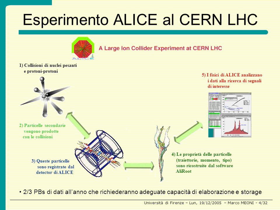 Esperimento ALICE al CERN LHC