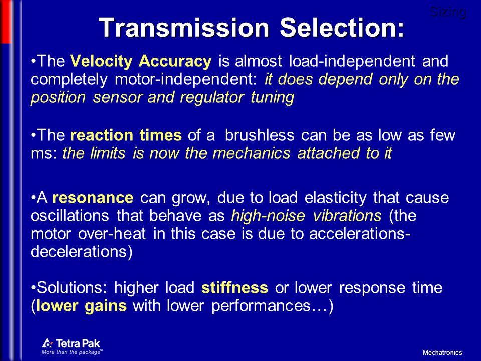 Transmission Selection: