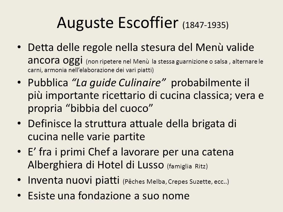Auguste Escoffier (1847-1935)