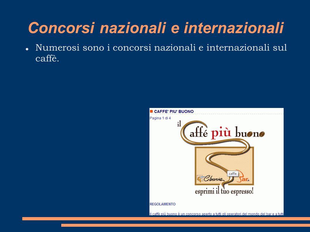 Concorsi nazionali e internazionali