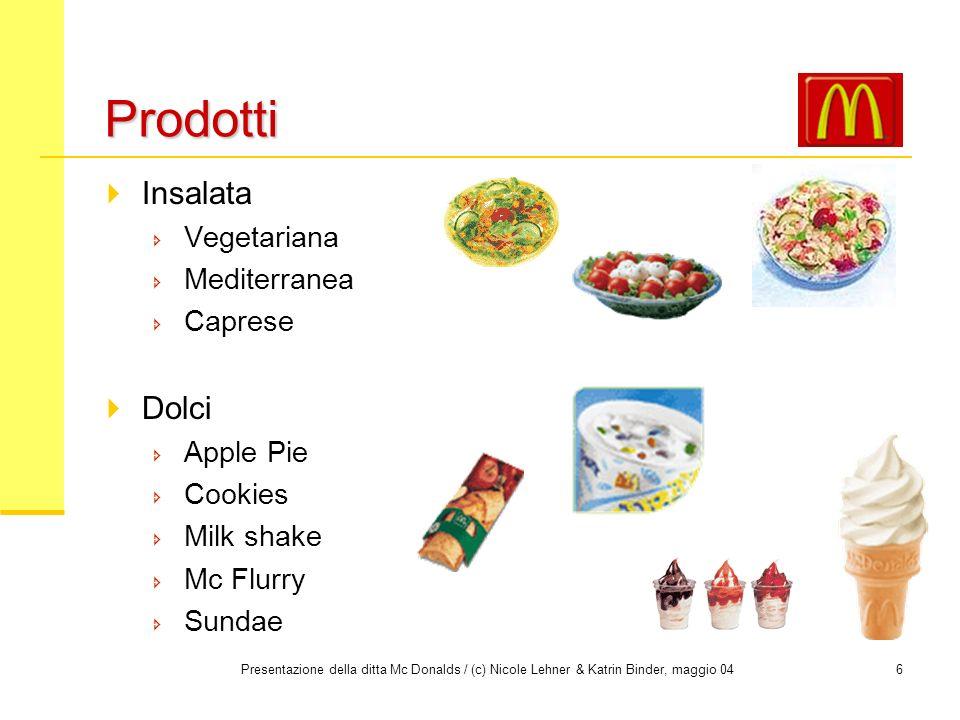 Prodotti Insalata Dolci Vegetariana Mediterranea Caprese Apple Pie