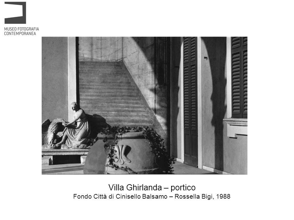 Villa Ghirlanda – portico Fondo Città di Cinisello Balsamo – Rossella Bigi, 1988