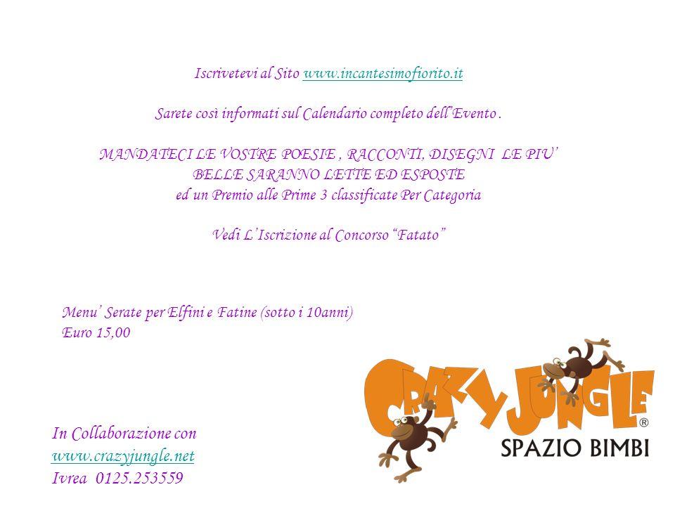 In Collaborazione con www.crazyjungle.net Ivrea 0125.253559