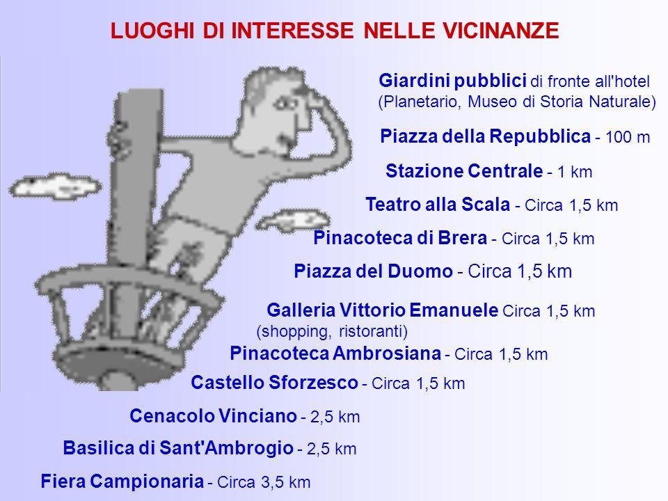 LUOGHI DI INTERESSE NELLE VICINANZE