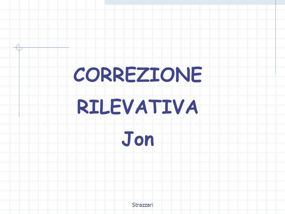 CORREZIONE RILEVATIVA Jon