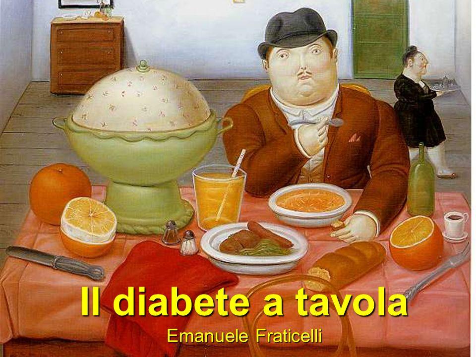 Il diabete a tavola Emanuele Fraticelli