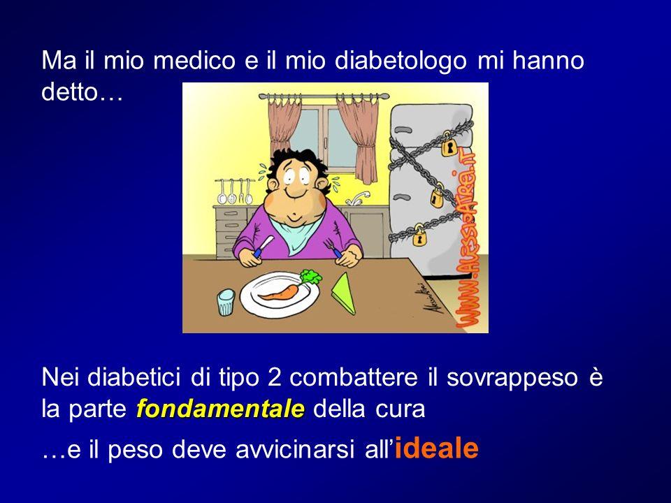 Ma il mio medico e il mio diabetologo mi hanno detto…
