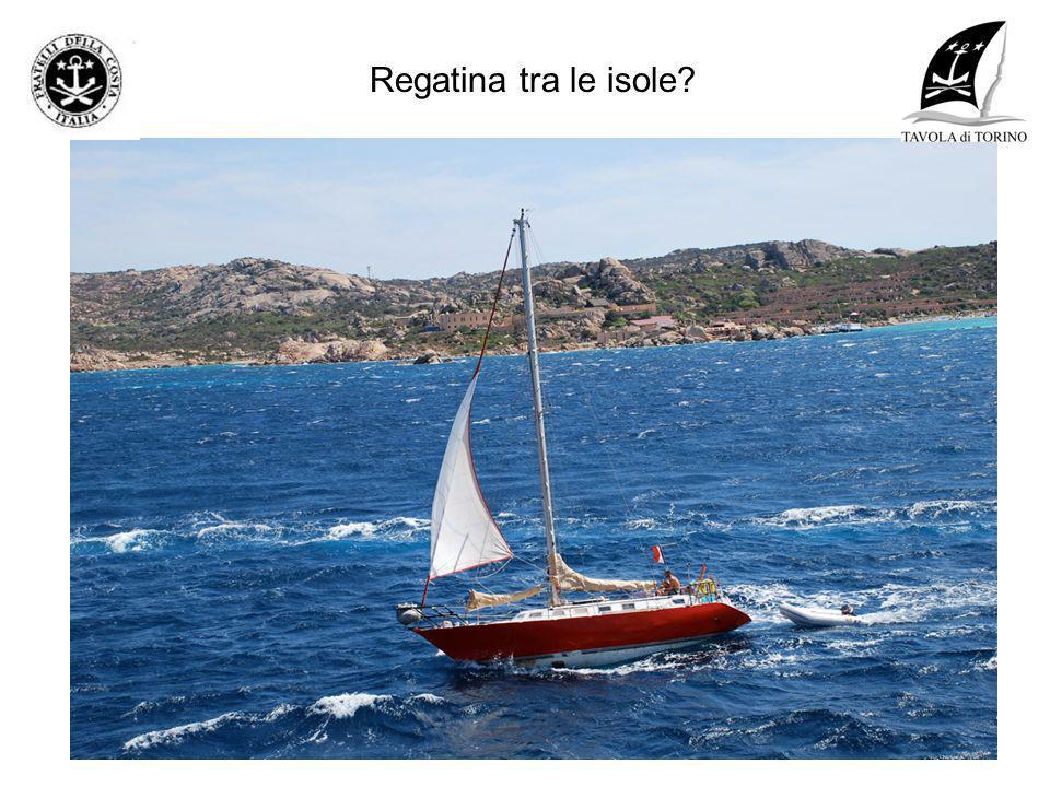 Regatina tra le isole