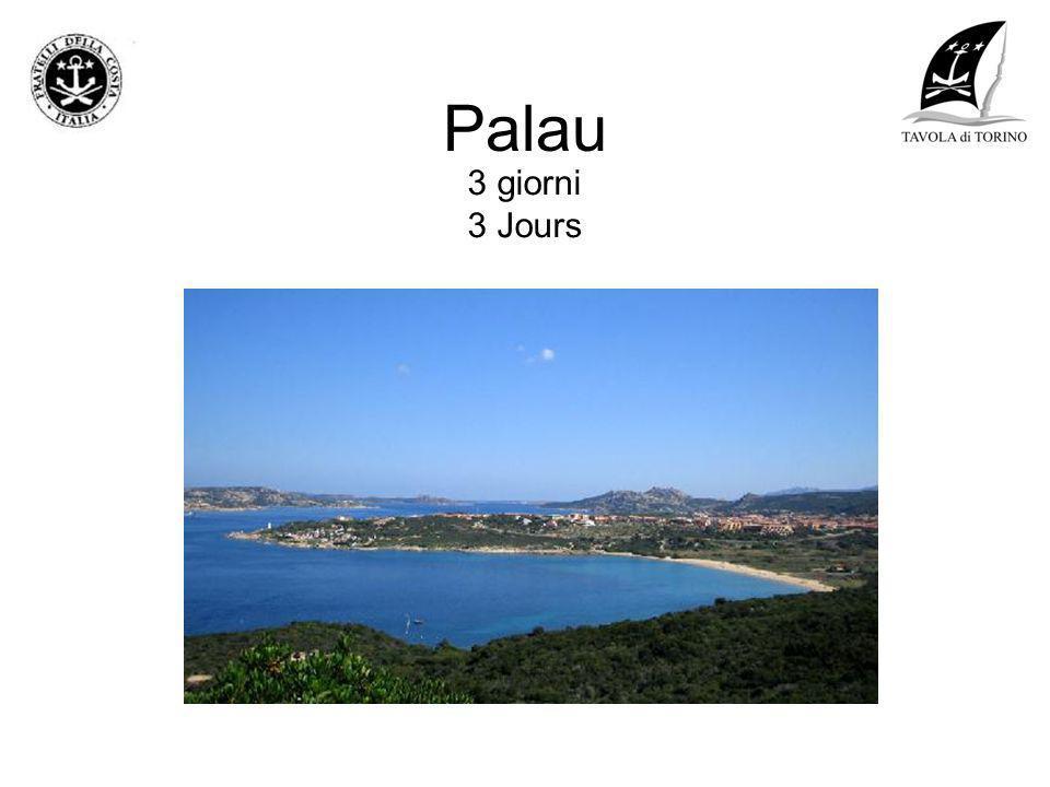 Palau 3 giorni 3 Jours