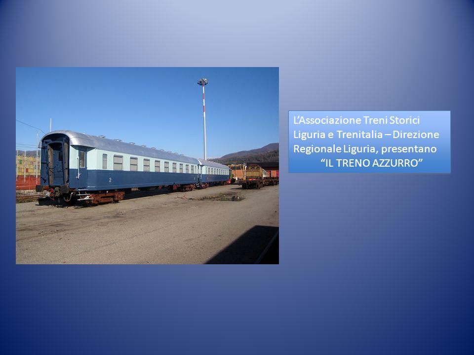 L'Associazione Treni Storici Liguria e Trenitalia – Direzione Regionale Liguria, presentano