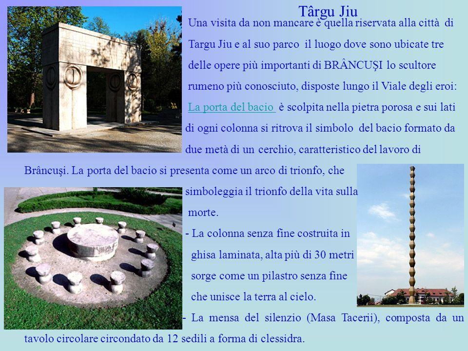 Târgu Jiu Una visita da non mancare è quella riservata alla città di