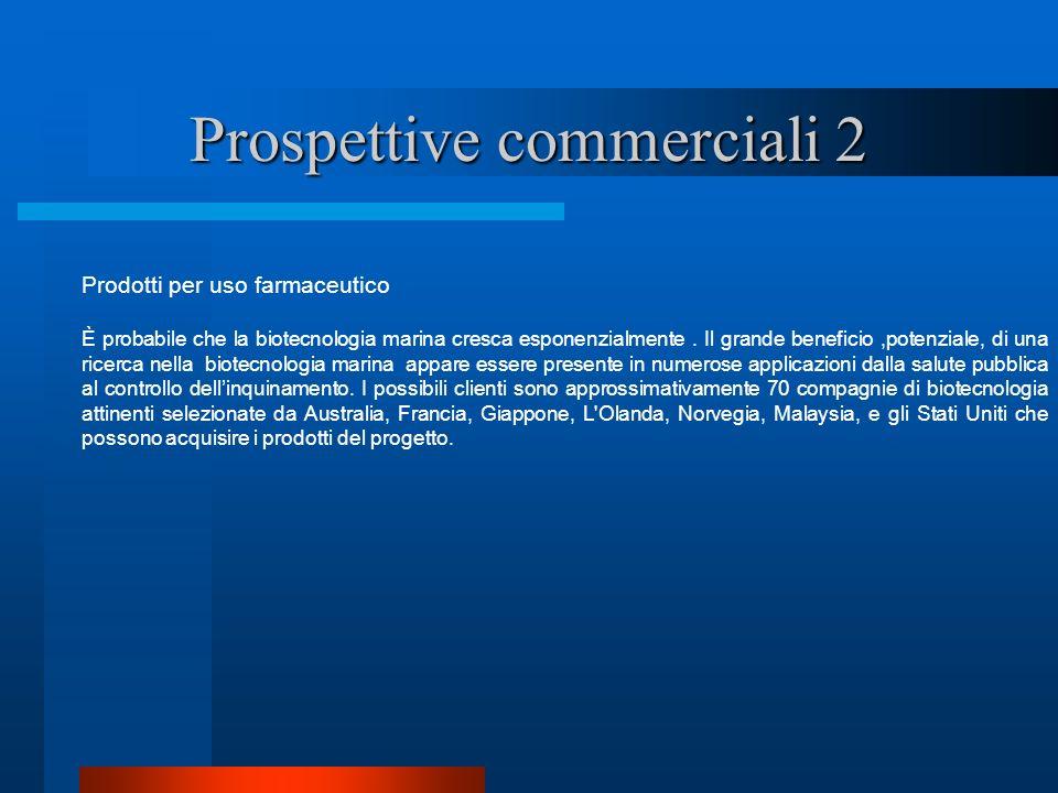 Prospettive commerciali 2