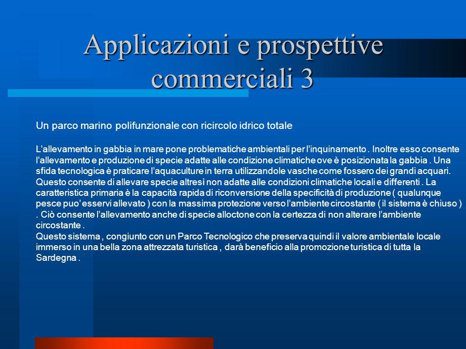 Applicazioni e prospettive commerciali 3
