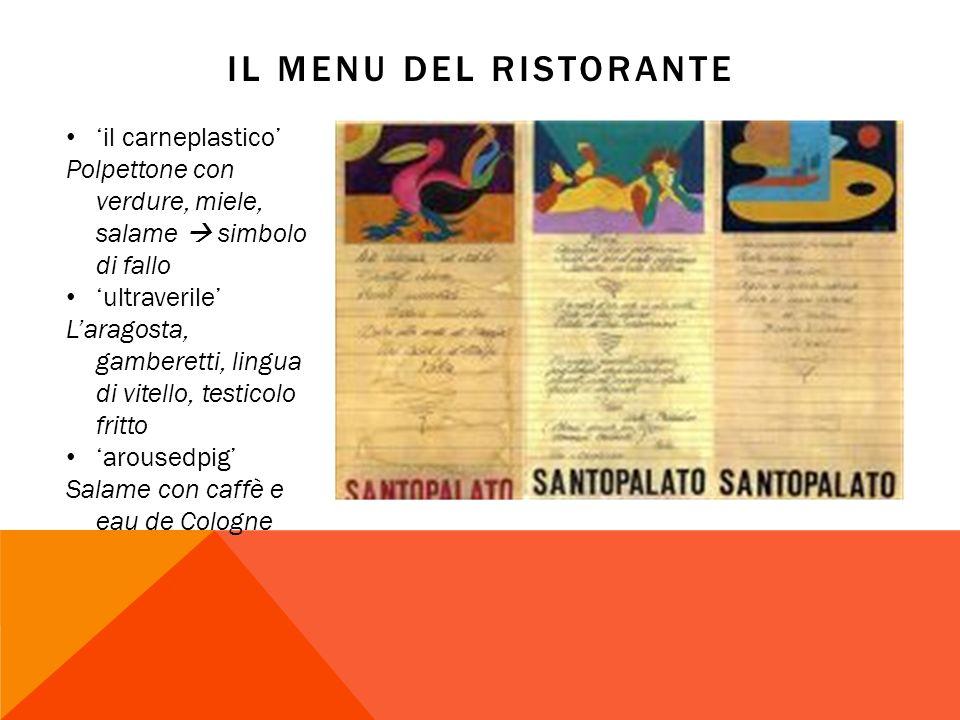 Il menu del ristorante 'il carneplastico'