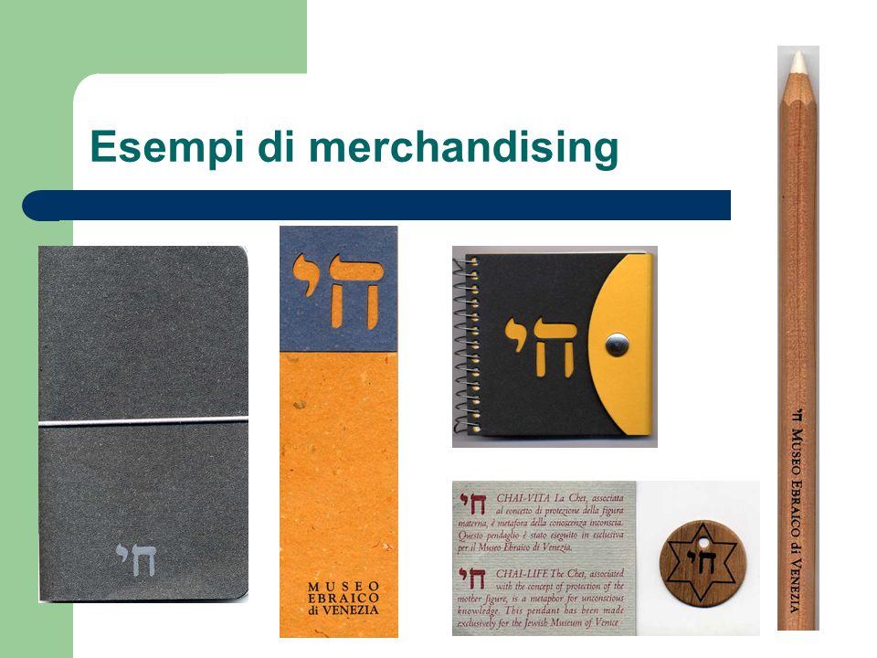 Esempi di merchandising