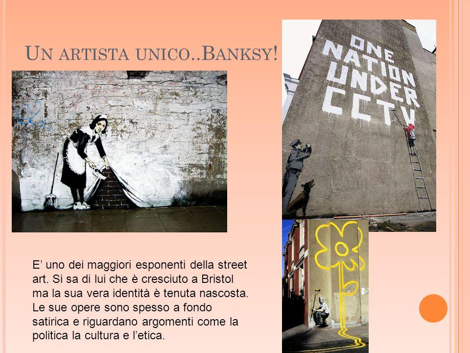 Un artista unico..Banksy!