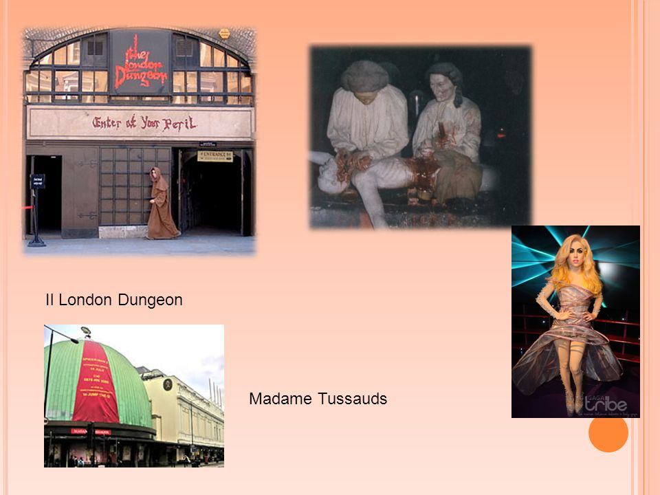 Il London Dungeon Madame Tussauds