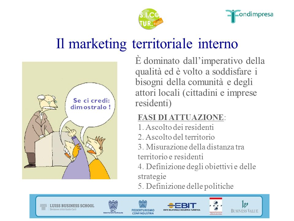 Il marketing territoriale interno