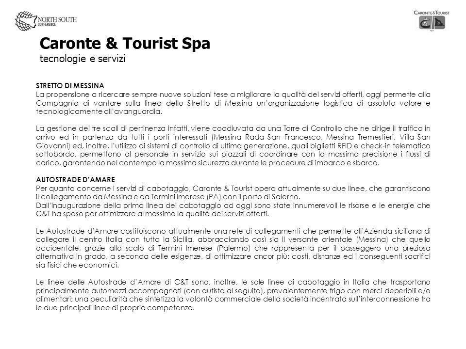 Caronte & Tourist Spa tecnologie e servizi
