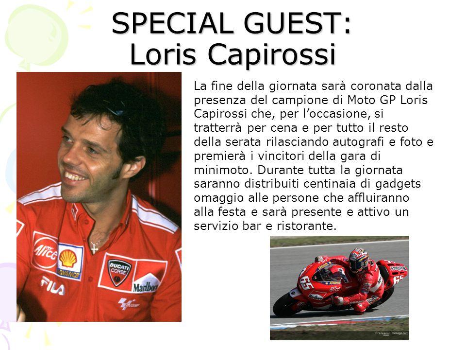 SPECIAL GUEST: Loris Capirossi