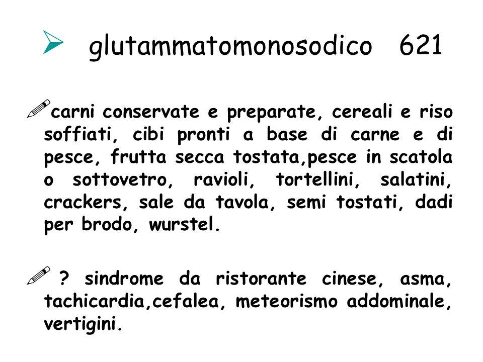 glutammatomonosodico 621