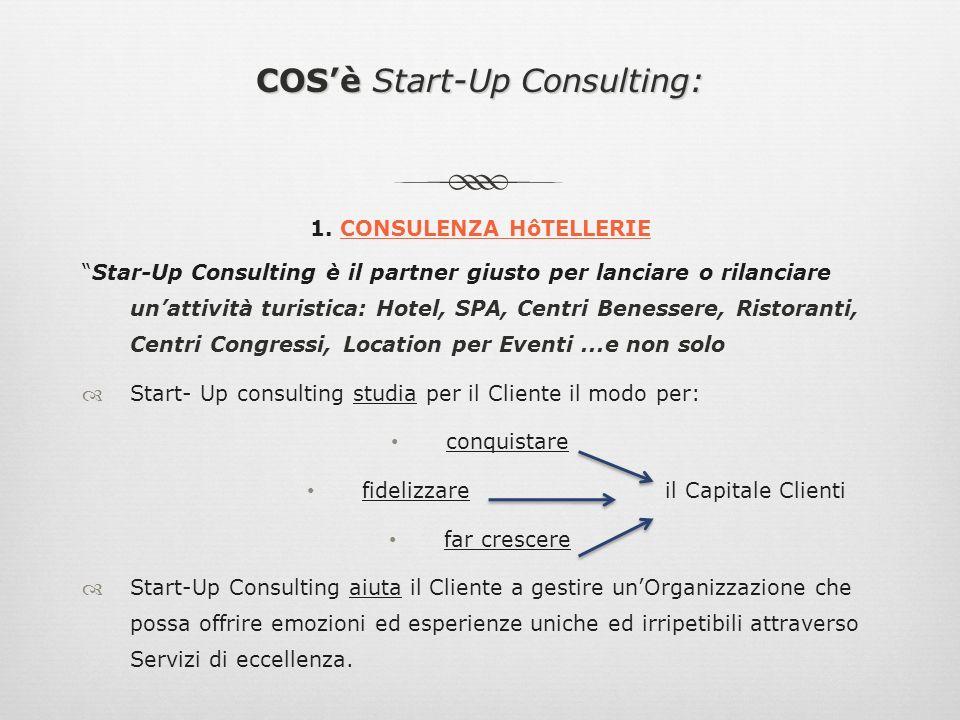 Start-Up Consulting: ...IL VALORE AGGIUNTO …