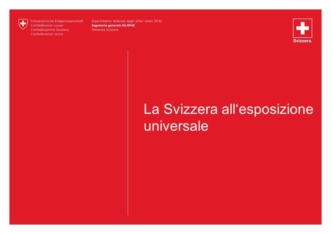 La Svizzera all'esposizione universale