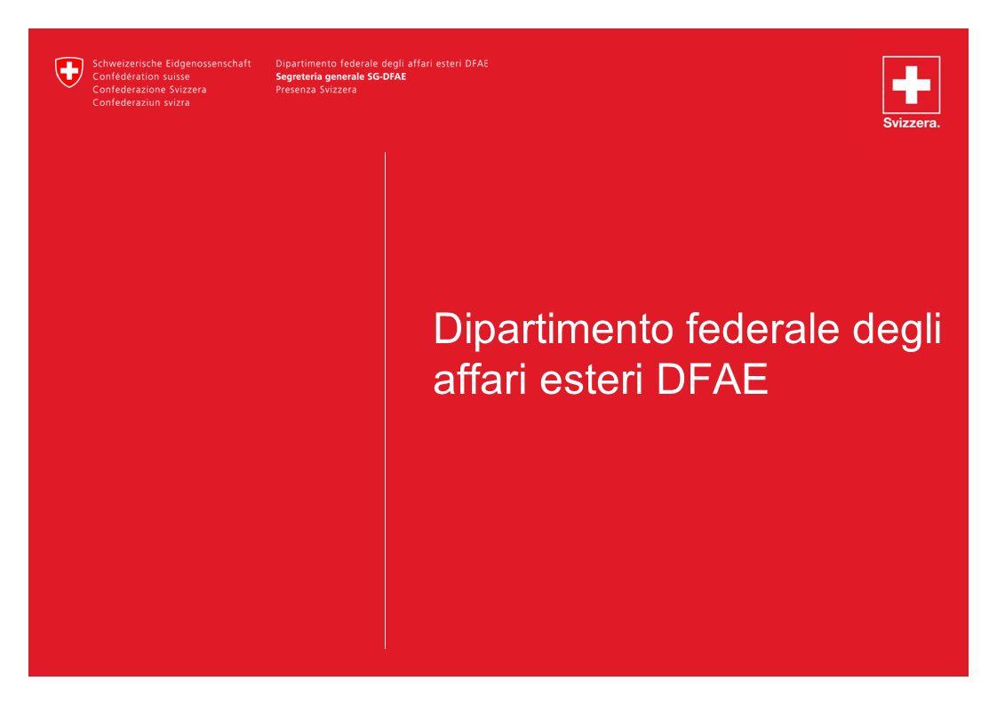 Dipartimento federale degli affari esteri DFAE