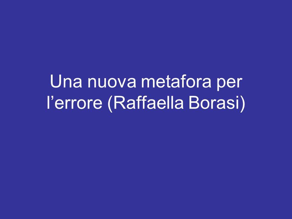 Una nuova metafora per l'errore (Raffaella Borasi)
