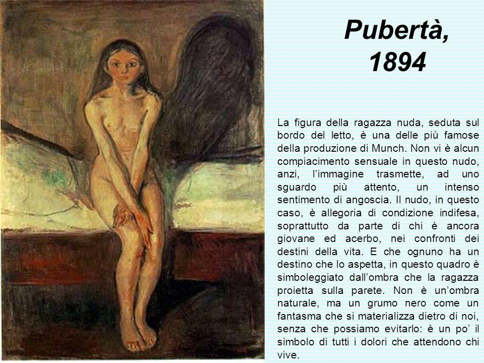 Pubertà, 1894