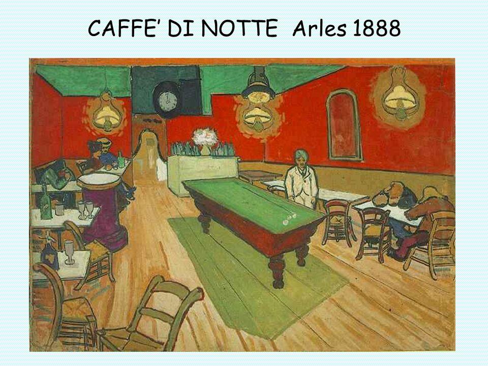 CAFFE' DI NOTTE Arles 1888