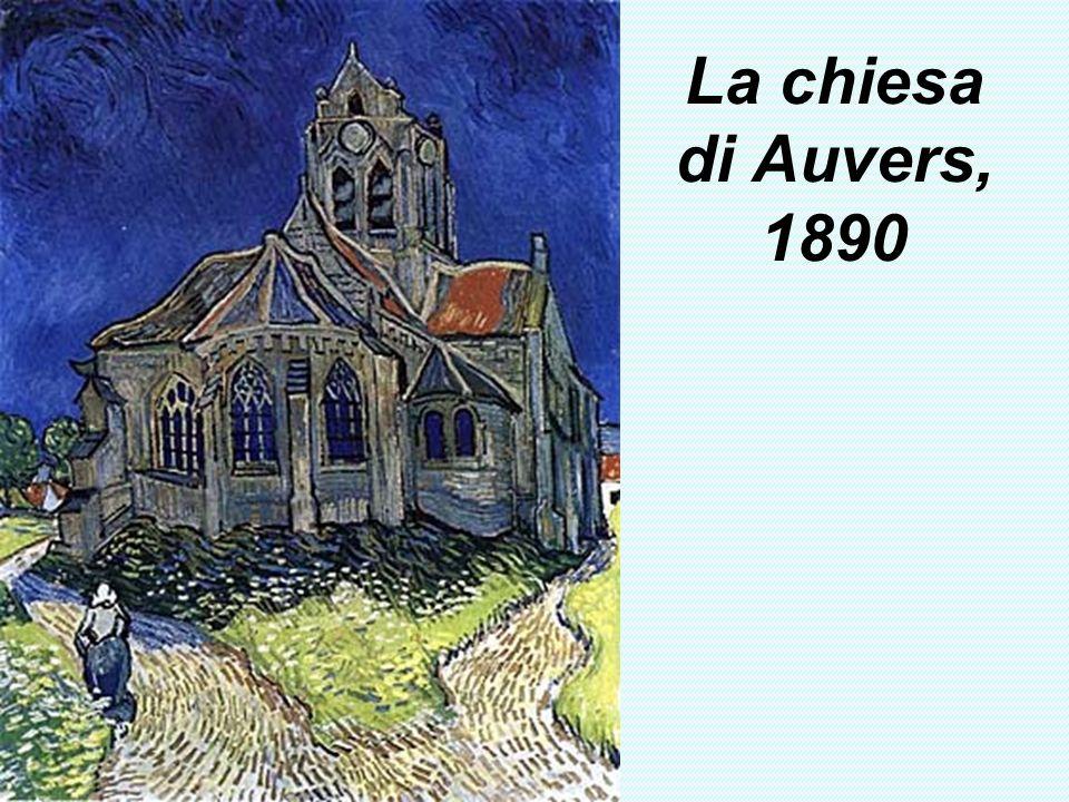 La chiesa di Auvers, 1890