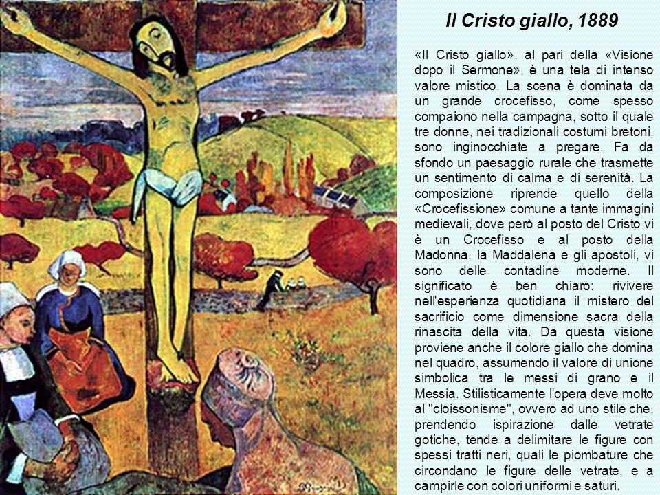 Il Cristo giallo, 1889