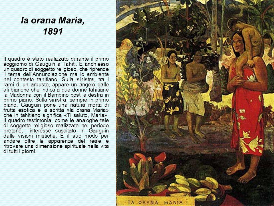 Ia orana Maria, 1891