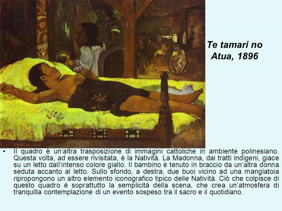 Te tamari no Atua, 1896