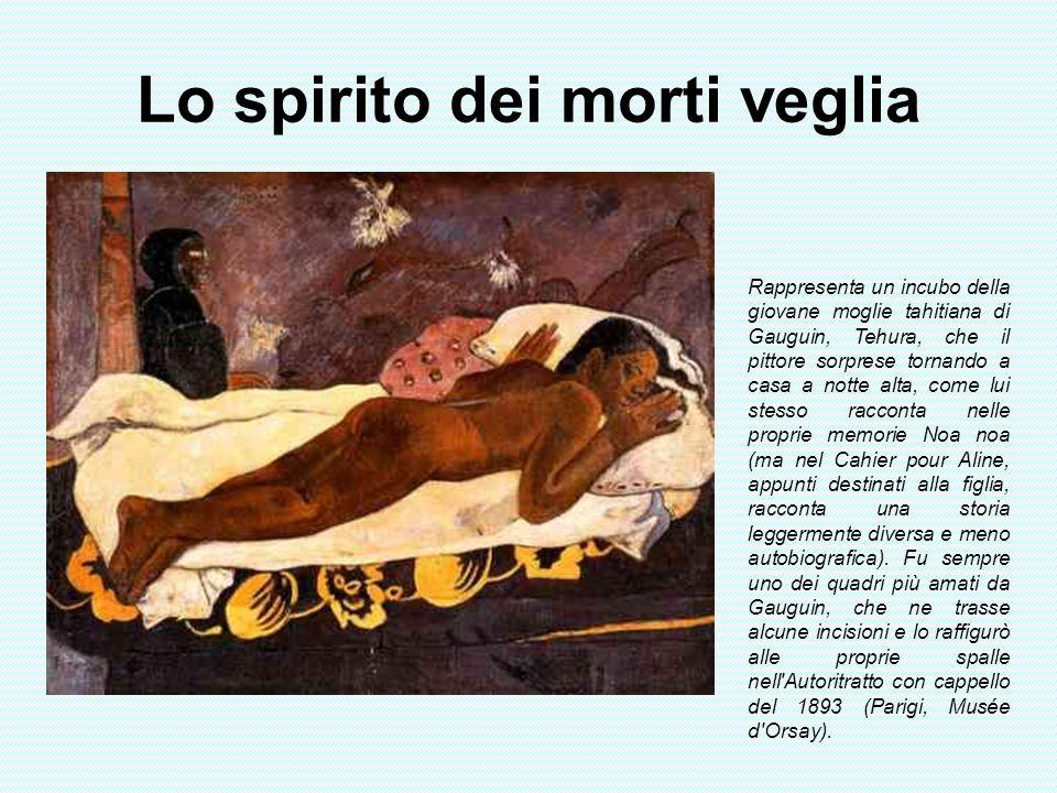 Lo spirito dei morti veglia