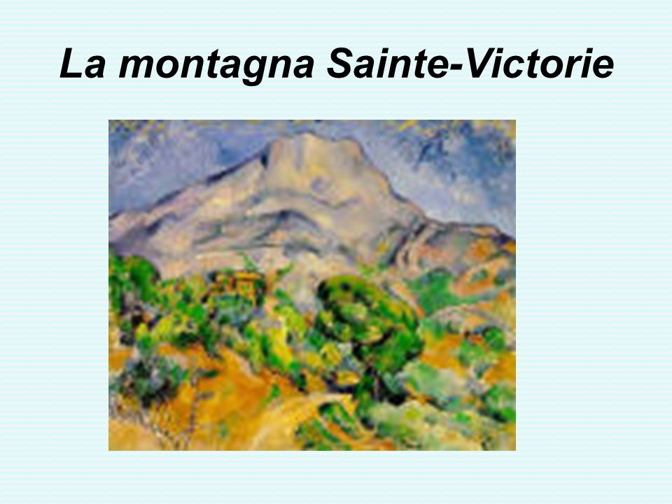 La montagna Sainte-Victorie