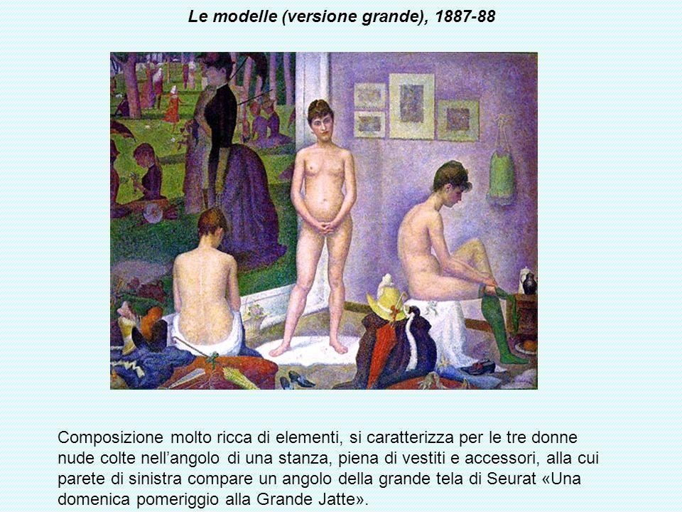 Le modelle (versione grande), 1887-88