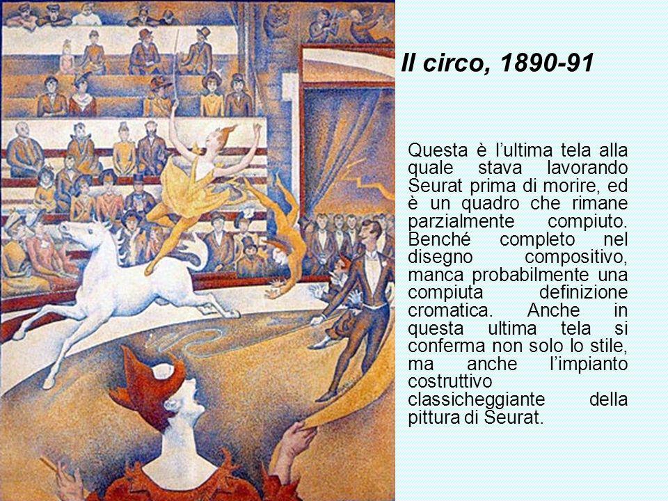 Il circo, 1890-91