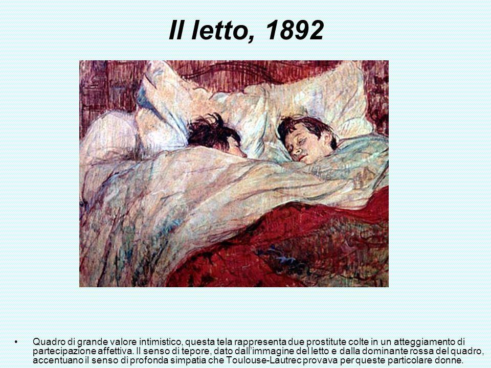 Il letto, 1892