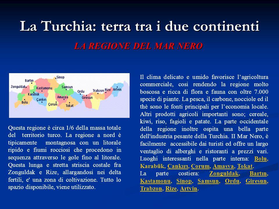 La Turchia: terra tra i due continenti