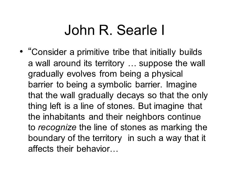 John R. Searle I
