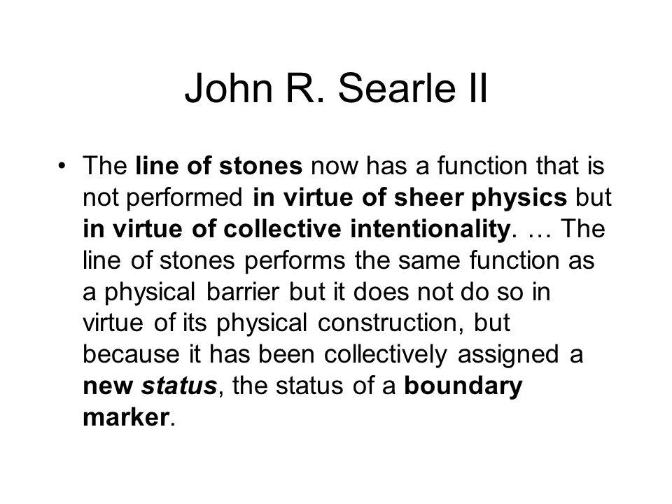John R. Searle II