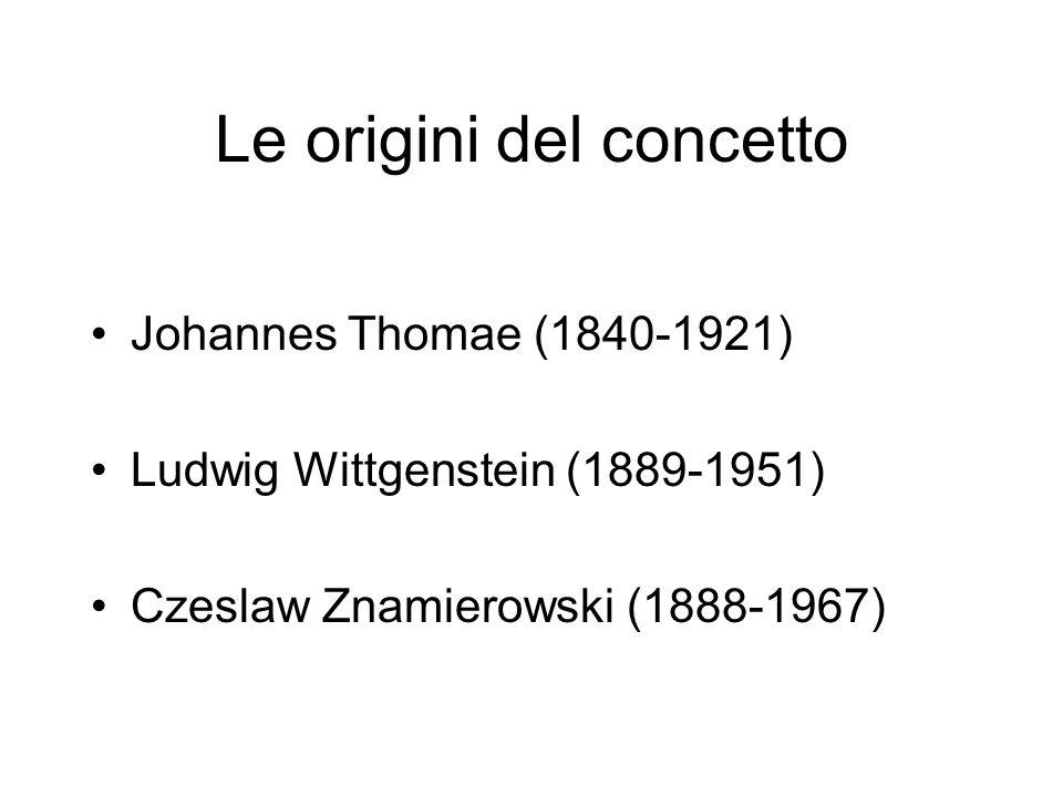 Le origini del concetto
