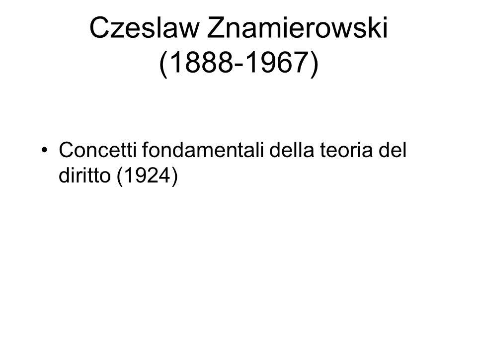 Czeslaw Znamierowski (1888-1967)