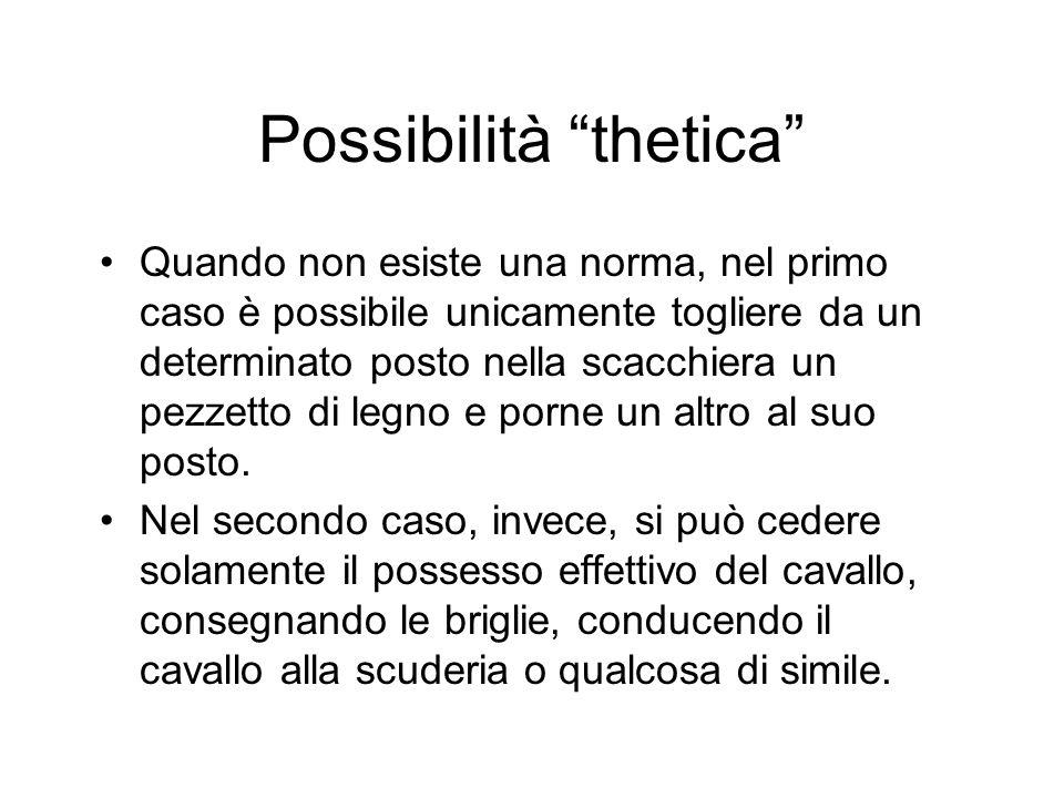 Possibilità thetica