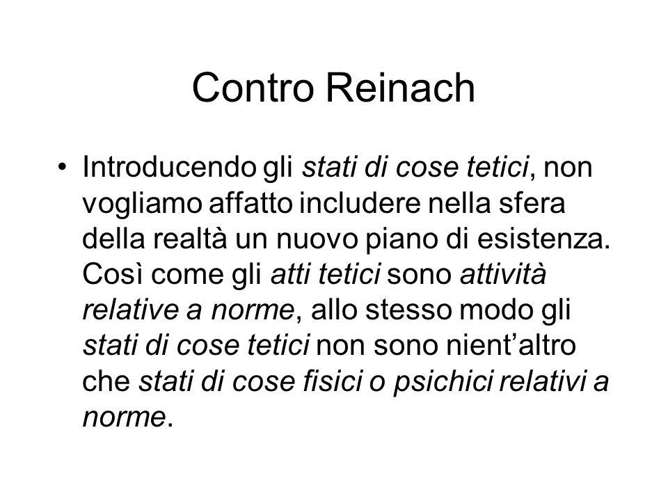 Contro Reinach