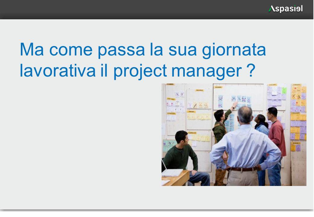Ma come passa la sua giornata lavorativa il project manager