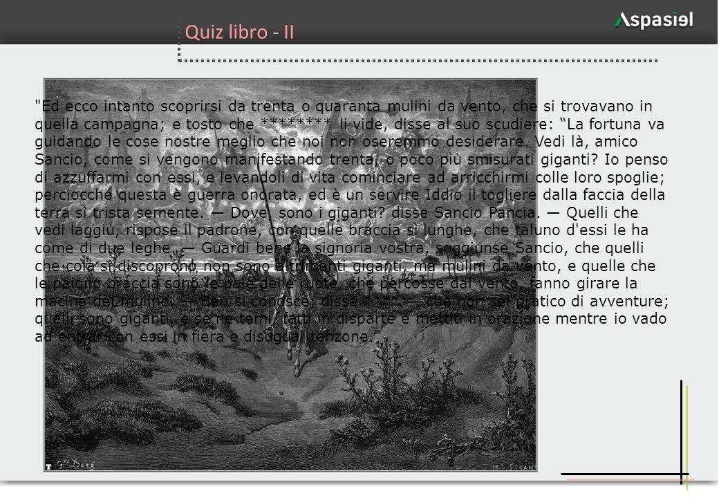 Quiz libro - II