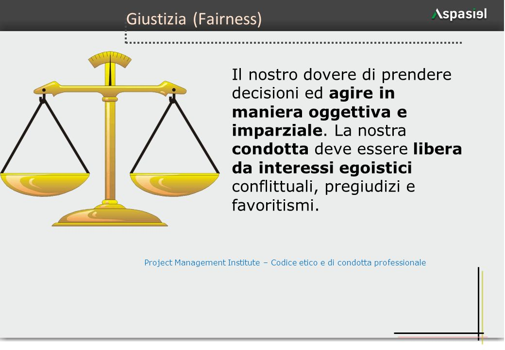 Giustizia (Fairness)